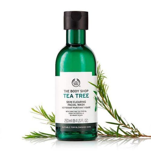 12- The Body Shop Tea Tree Skin Clearing Face Wash