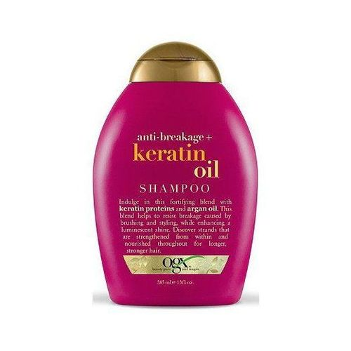 15) OGX Anti-Breakage Keratin Oil Shampoo