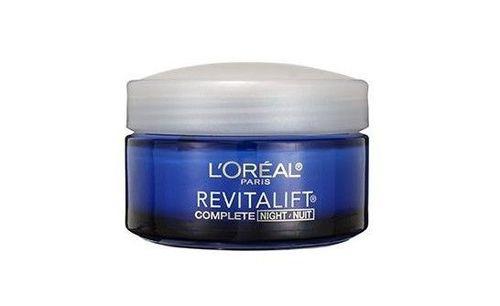 1) L'Oreal Paris, RevitaLift Anti-Wrinkle + Firming Night Cream Moisturizer
