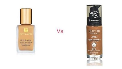 Estee Lauder Double Wear Stay-In-Place Foundation vs Revlon Colorstay Makeup