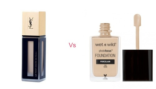 YSL Fusion Ink vs Wet n Wild Photo Focus