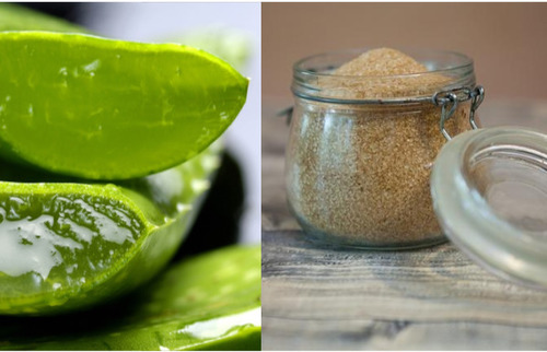 Aloe-vera-and-brown-sugar