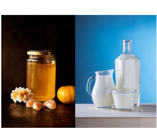 Honey-and-milk