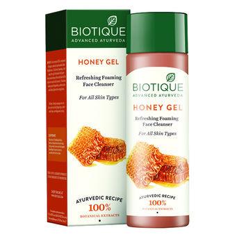 Biotique Honey Gel Refreshing Foaming Face Wash