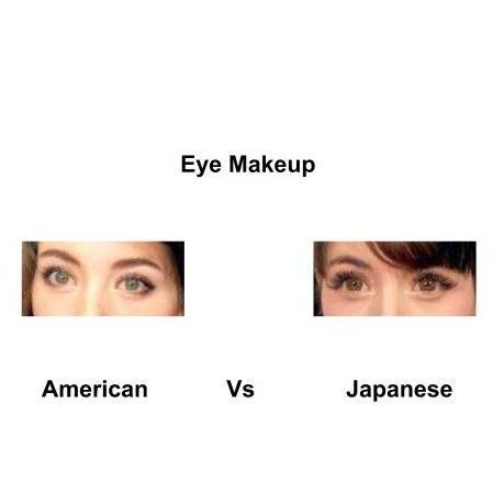 American-Vs-japanese-eye-makeup