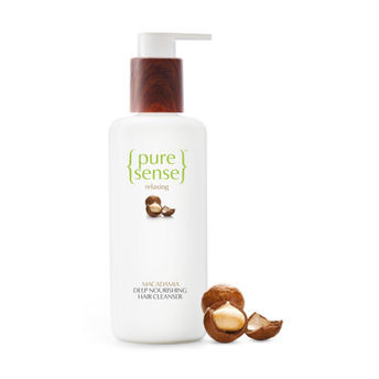 PureSense Relaxing Macadamia Deep Nourishing Hair Cleanser - Sulphate and Paraben Free