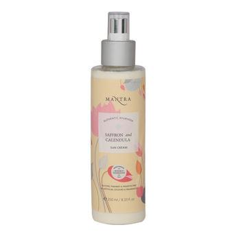 Mantra Saffron And Calendula paraben free sunscreen
