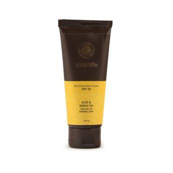 SoulTree Sun Protection Cream SPF 30 paraben free sunscreen