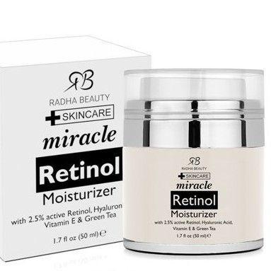 radha beauty retinol cream