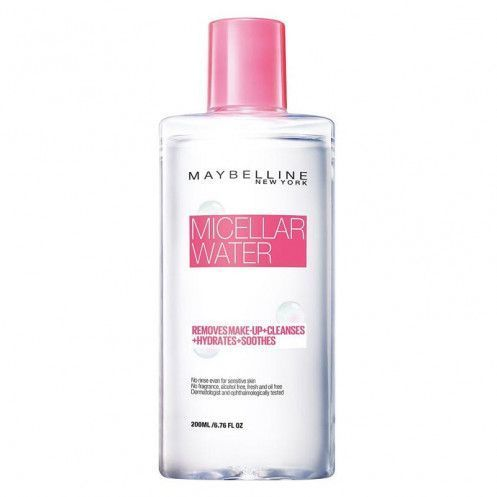Micellar water makeup remover
