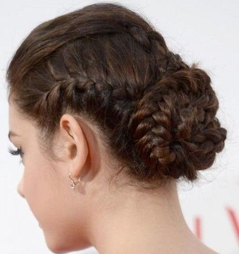 Elegant Multi-Braided Bun