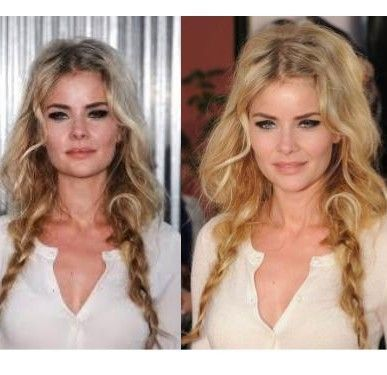 Tousled Braided Pigtails With Puffy Top And Free Ends
