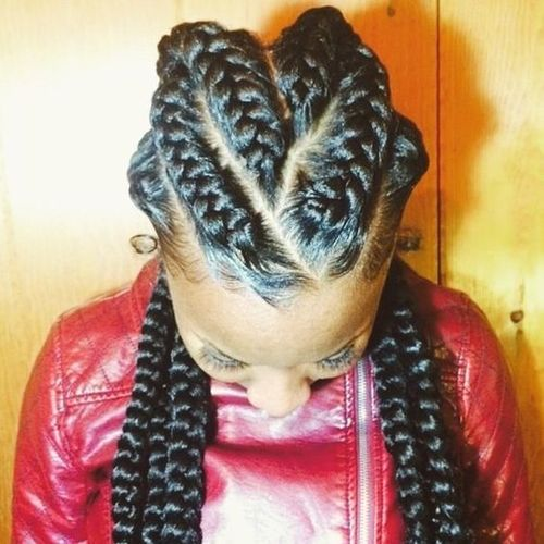 Criss-Cross Goddess Braids2