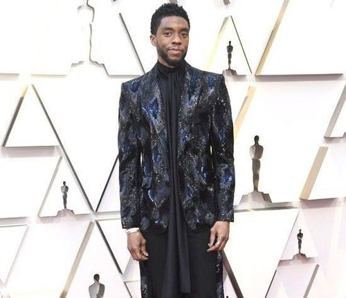 Chadwick-Boseman-Oscars-2019-Red-Carpet