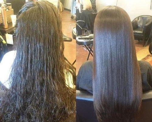 Cysteine hair treatment- process-