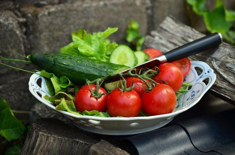 tomato cucumber