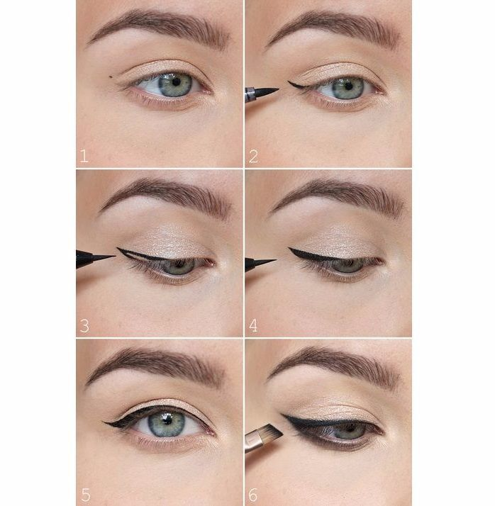 Eyeliner steps image courtesy sandi spears pinterest