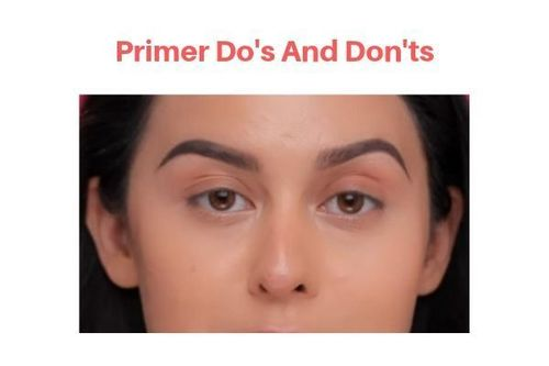 Primer Do's And Don'ts