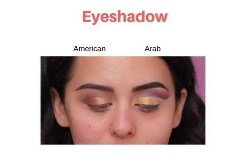 American-Vs-Arab-Makeup-Eyeshadow