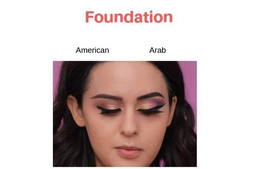 American-Vs-Arab-Makeup-Foundation