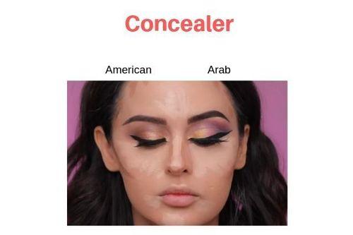 American-Vs-Arab-Makeup-Concealer