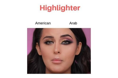 American-Vs-Arab-Makeup-Highlighter