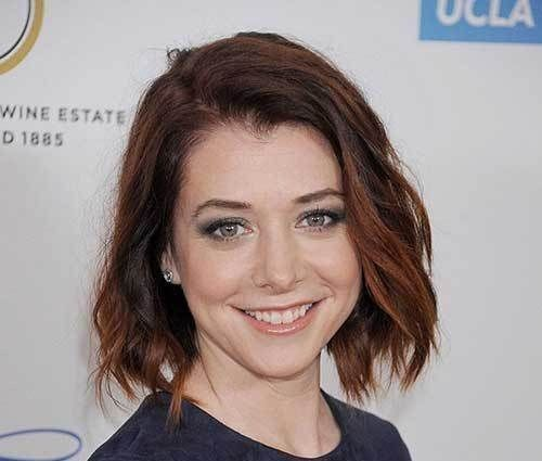 textured-short-bob-hairstyle