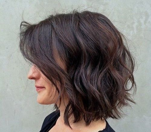 textured-bob-hairstyle