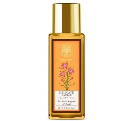 Forest Essentials Delicate Facial Cleanser- Kashmiri Saffron and Neem