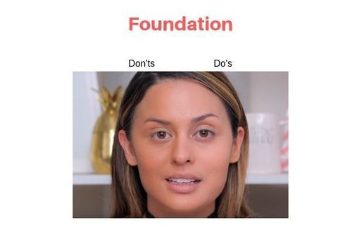 Foundation Do's And Don'ts