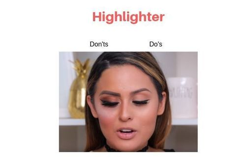 Highlighter Do's And Don'ts