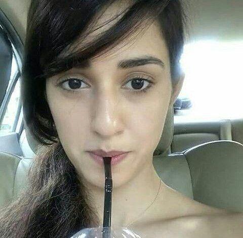 Disha Patani drinking water