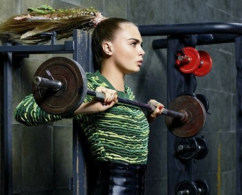 Cara Delevingne Workout
