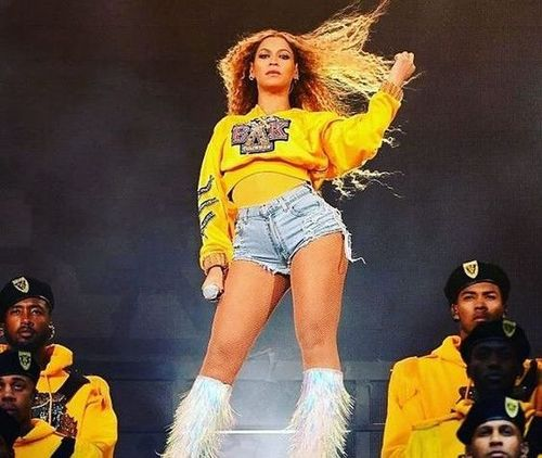 Beyonce-stage