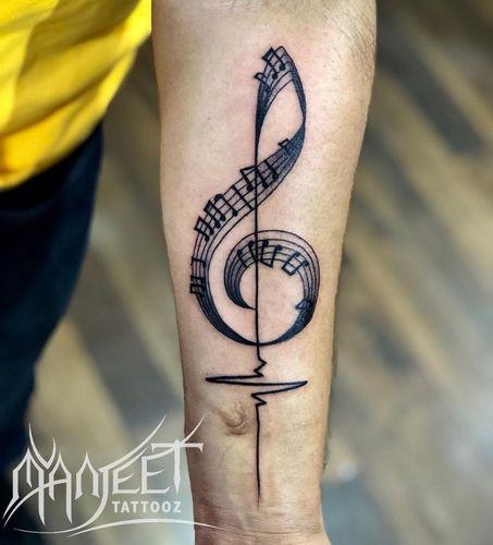 Musical-tattoo-for-women