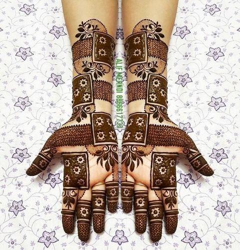 New Geometric Bridal Mehndi
