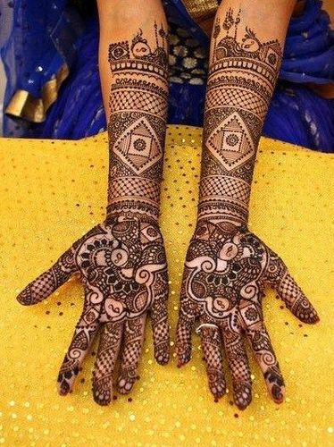 Marriage Mehndi Design