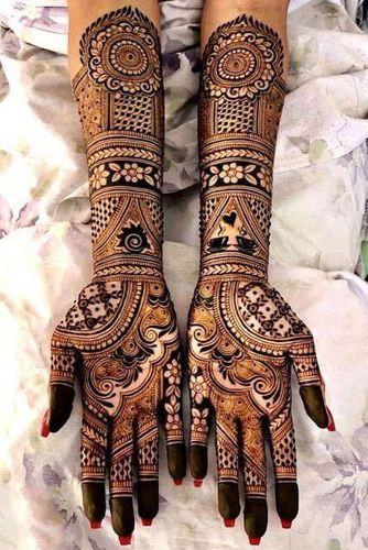 New Bridal Mehndi Design