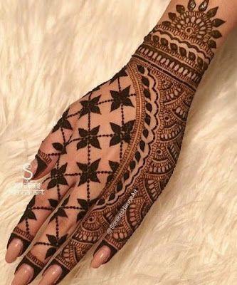 New Bridal Mehndi Design-