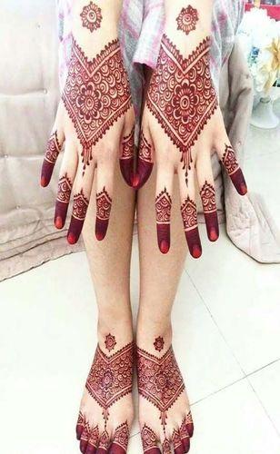 Henna Mehndi Design For Brides