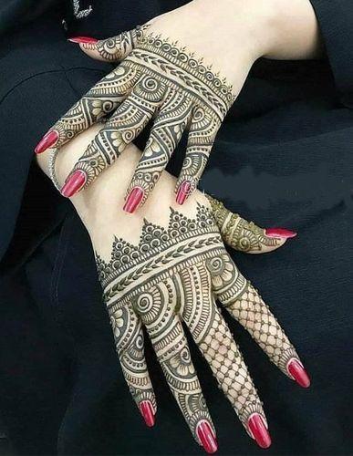 Chic Bridal Mehndi