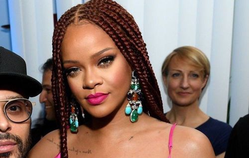 Rihanna cornrow braids