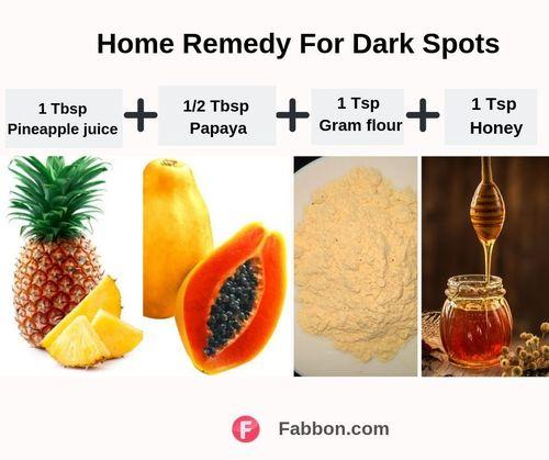 Dark spots remedy