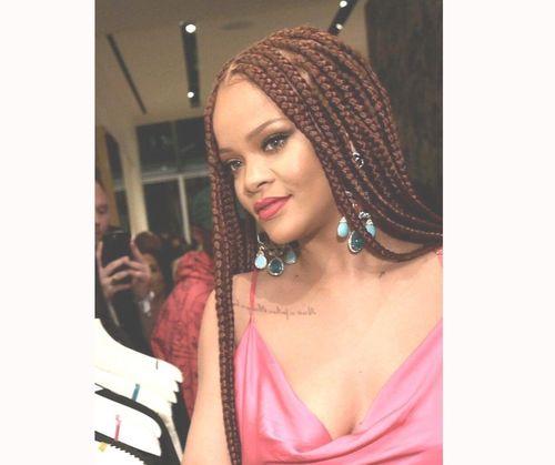 Rihanna box braids