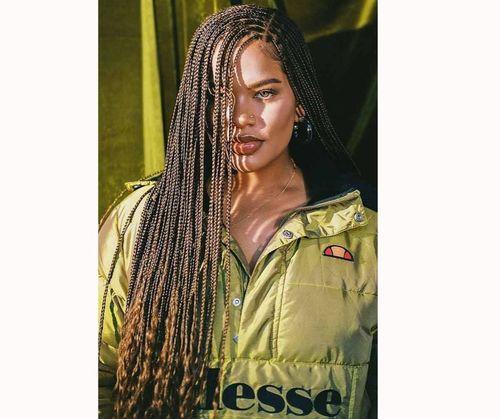 Chic goddess box braids
