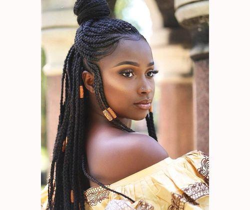 Fulani box braids