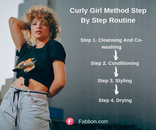 Curly girl method routine