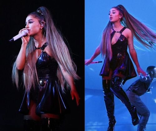 Ariana-grande-black-outfit