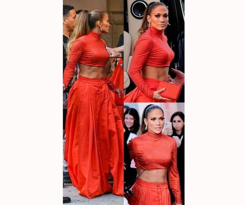 Jlo-Ravishing in Rust Orange