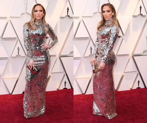Sequin Evening JLo Gown